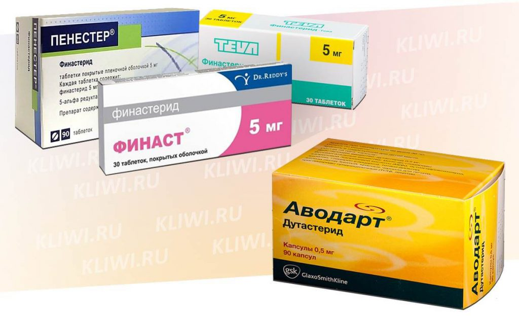 Препараты Финастерид и Дутастерид