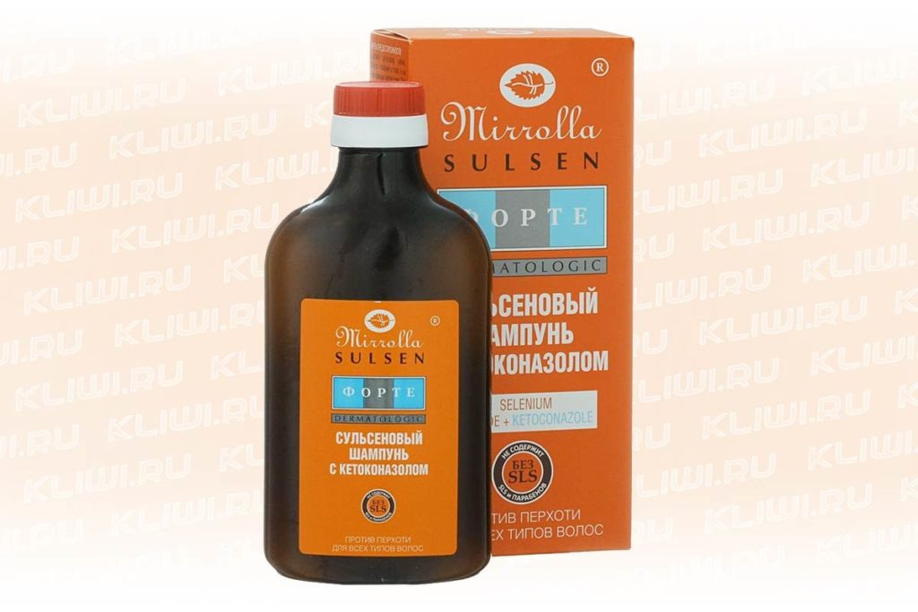 Миролла Форте с кетоконазолом