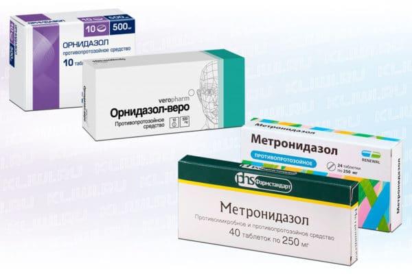 Орнидазол или Метронидазол — что лучше?
