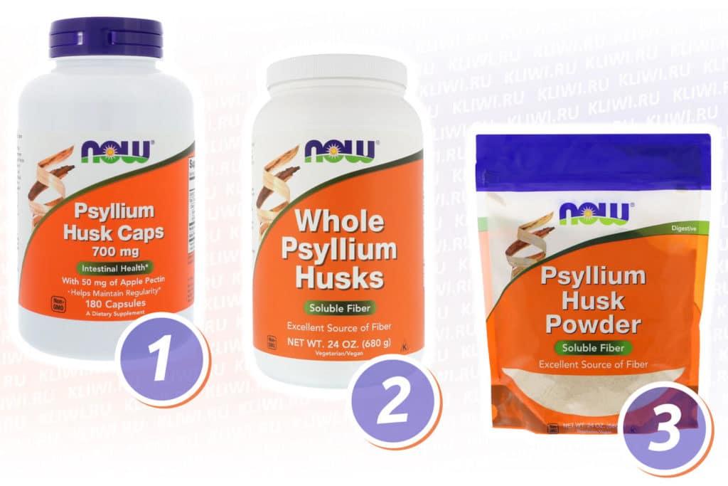 Псиллиум Нау Фудс (Now Foods)