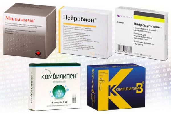 5 препаратов витаминов В группы в уколах